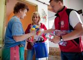 Pomoc po povodni v oblasti Bernartic a Javorníka