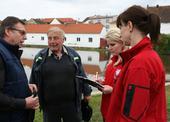 Psychosociální tým hovořil také s náčelníkem putimských dobrovolných hasičů